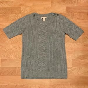 Banana Republic Short Sleeve Knit Sweater
